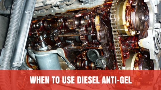 WHEN TO USE DIESEL ANTI-GEL